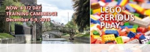 LEGO® SERIOUS PLAY® Training of Facilitators – Cambridge (SOLD OUT)
