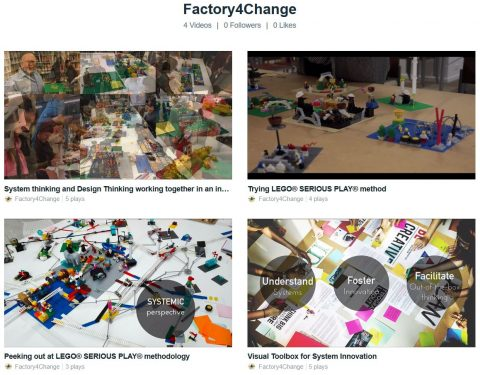 Factory4Change Videos about LEGO Serious Play Methodology