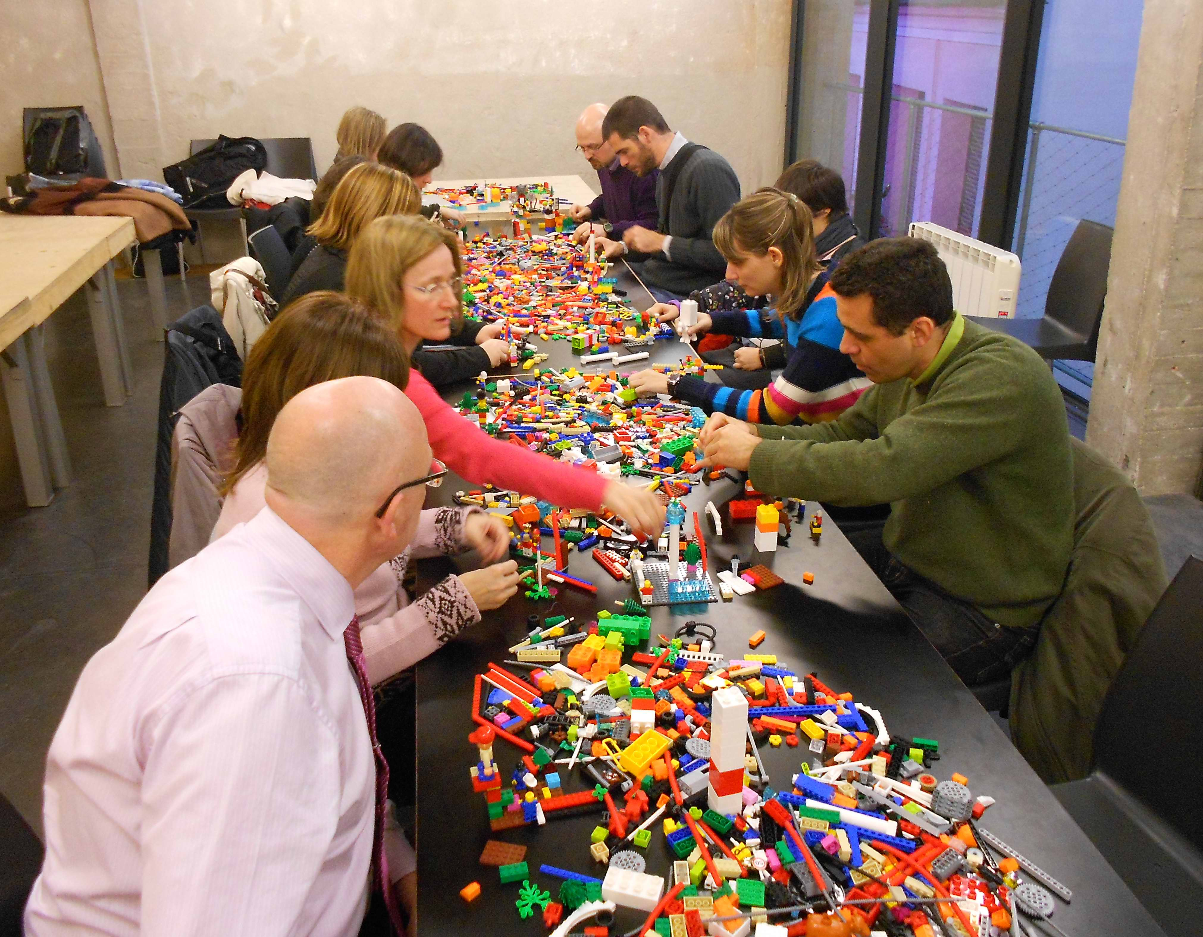 Lego Team Building Activity For Adults