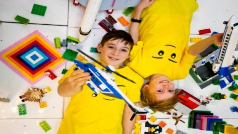 Building the future with LEGO