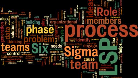 How LEGO® Supports Six Sigma Quality Efforts