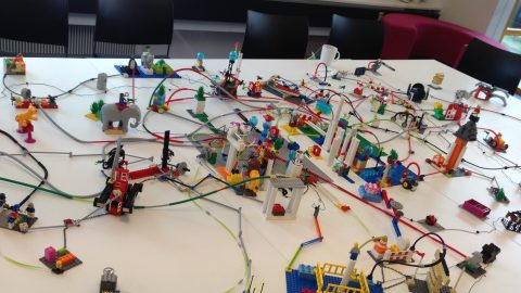 THE MAP IS NOT THE TERRITORY: A Love  Song of  a LEGO® SERIOUS PLAY® facilitator   Feb.14, 2017