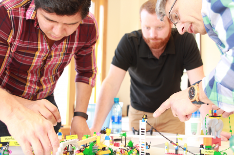 Playing with Strategy with LEGO® SERIOUS PLAY® Methods Whistler BC May 2019