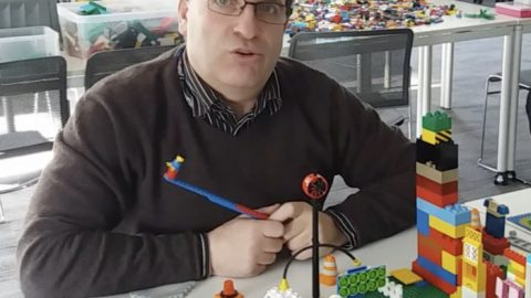 LEGO video by Chichester lecturer goes viral via Facebook