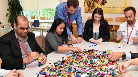 Coaching using LEGO® SERIOUS PLAY® method: Understanding, Sharing and Living Values in Cross Cultural contexts