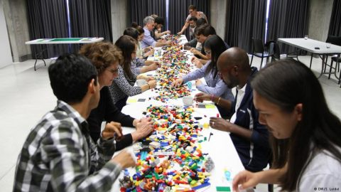 Playing with Lego for media development, seriously