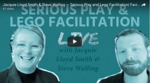 Facilitating XYZ live interview with trainers Jacquie Lloyd Smith and Stephen J. Walling