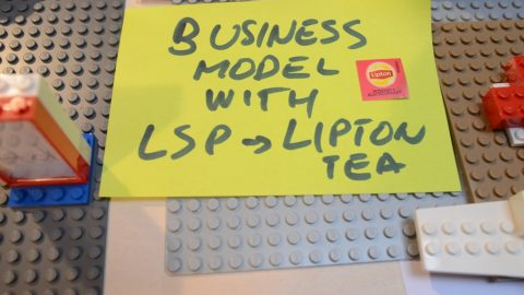 Serious work – business model, capricious client and interns