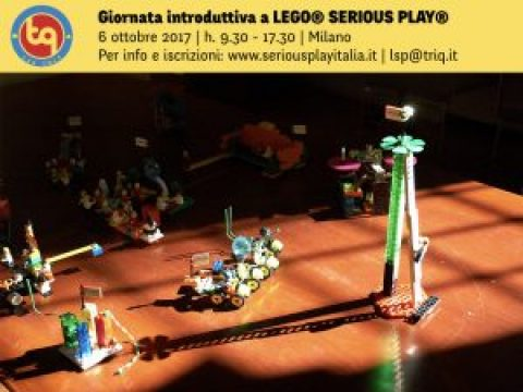 "LEGO® SERIOUS PLAY® ""Hands on bricks"" experience 