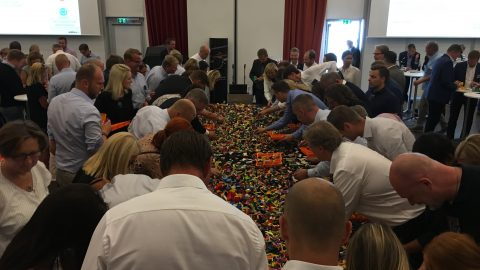 IntHRface and Electrolux host LEGO buffet with Teamship on the menu!!