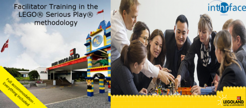 Facilitator Training in the LEGO® Serious Play® methodology at Hotel LEGOLAND®, Billund, Denmark