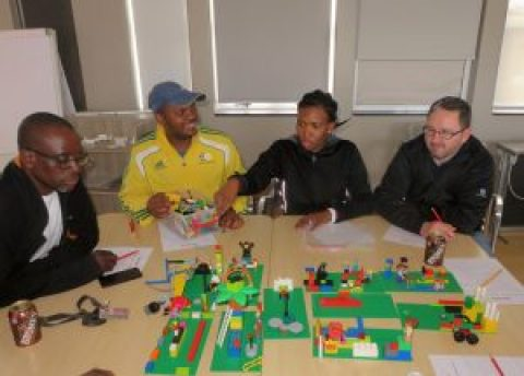 LEGO® Serious Play® Facilitator Training with Pete Smith of Teamgel in Johannesburg, South Africa