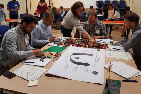 LEGO® Serious Play® for Theory U: Learn to Lead from the Future