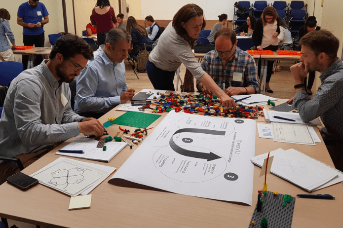 Pere Juarez Vives LEGO Serious Play and Theory U Photo 01