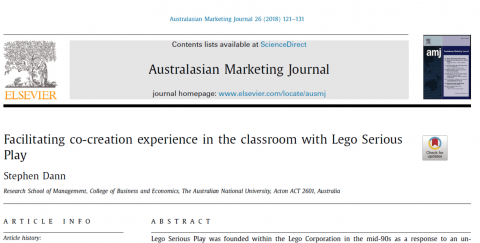 Co-creation with LEGO Serious Play in Classrooms
