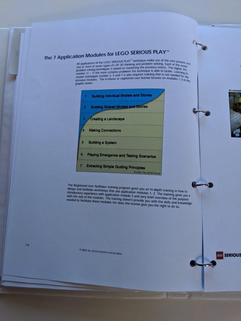 7 Application Modules - White Facilitator Manual (C) LEGO Group 2007