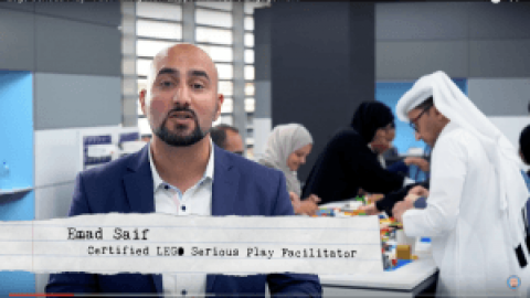 Emad Saif – A Video Post about LEGO Serious Play Workshop Experience