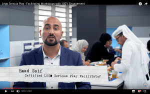 Emad Saif - A Video Post about LEGO Serious Play Workshop Experience