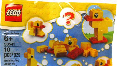 Yellow LEGO Ducks available via Amazon
