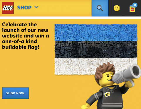 LEGO Shop Expands to New Countries