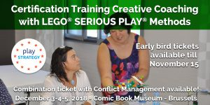 Certification Training Lego Serious Play - Creative Coaching by Play Strategy