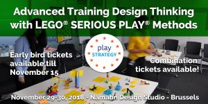 Advanced Training Design Thinking with Lego Serious Play Methods