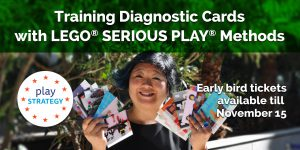 Training Diagnostic Cards with Lego Serious Play Methods