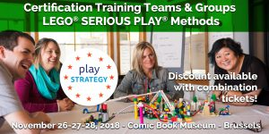 Certification Training Lego Serious Play Methods - Teams & Groups