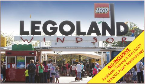 ALL-INCLUSIVE Facilitator Training in the LEGO® SERIOUS PLAY® methodology at LEGOLAND® Resort Windsor (UK)