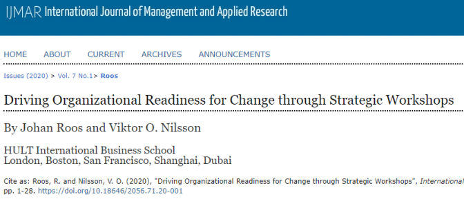 Driving Organizational Readiness for Change through Strategic Workshops